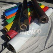 Tecido Lona de Vinil Preto 15x1,57 Metros PVC Rolo Impermeável Premium Malha Fio 1000 Super Resistente para toldos, tatames, ringues, revestimentos