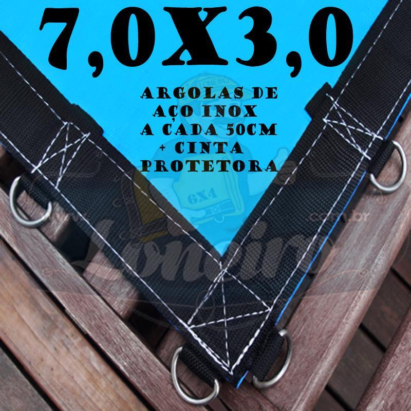 AZUL 7X3 + ARGOLAS