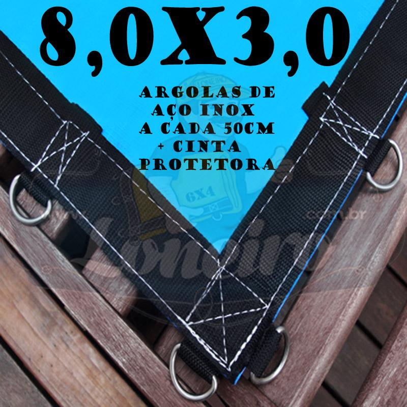 AZUL 8X3 + ARGOLAS