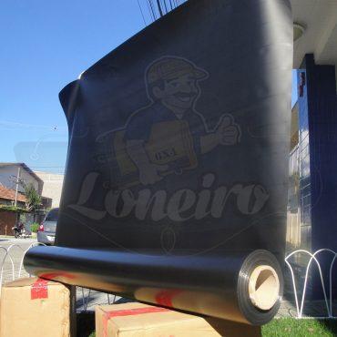 Tecido Lona de Vinil Preto 30x1,57 Metros PVC Bobina Impermeável Premium Malha Fio 1000 Super Resistente para toldos, tatames, ringues, cobertura