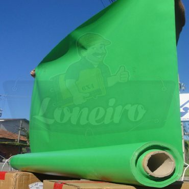 Tecido Lona de Vinil Verde Claro 30x1,57 Metros PVC Bobina Impermeável Malha Fio 1000 Super Resistente para toldos tendas revestimento proteção