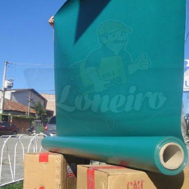 Tecido Lona de Vinil Verde Escuro 30x1,57 Metros PVC Bobina Impermeável Malha Fio 1000 Super Resistente para toldos tendas revestimento proteção