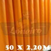 Bobina Plástica Laranja de Polietileno 50,0 x 2,20m = 110m²
