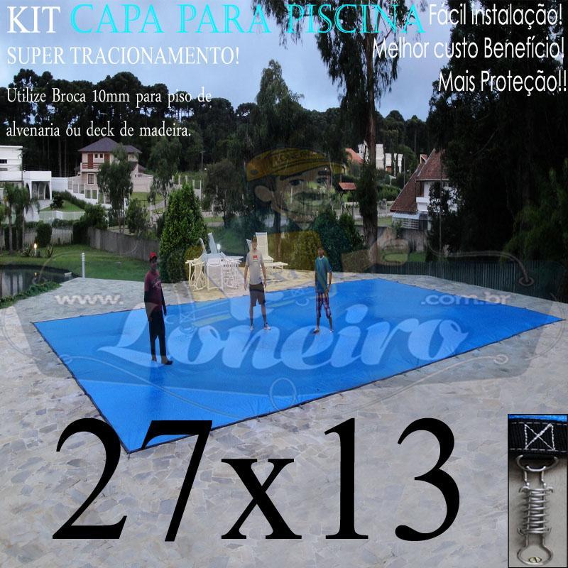 CAPA DE PISCINA 27X13 LONEIRO NOVO