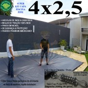 CAPA-PARA-PISCINA-PREMIUM-4X2,5-CINZA-CHUMBO-PRETO-COBERTURA-PROTEÇÃO-DE-PISCINAS-LONEIRO-CICALA