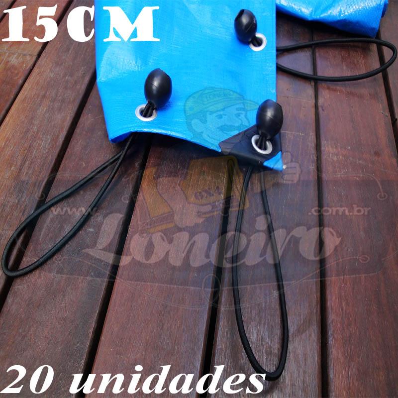 ELÁSTICOS LONAFLEX LONEIRO 15cm 20 unidades..