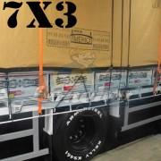 Lona 7,0 x 3,0m Encerado Premium Cotton RipStop de Algodão Caqui para Caminhão + 30 metros de Corda 8mm de brinde!