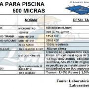 ESPECIFICAÇÃO TECNICA CAPA PISCINA LONEIRO