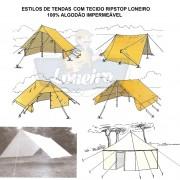 ESTILO-DE-TENDAS-RIPSTOP-LONEIRO-LONA-DE-ALGODÃO