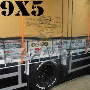 Lona 9,0 x 5,0m Encerado Premium Cotton RipStop de Algodão Caqui para Caminhão + 70 metros de Corda 8mm de brinde!