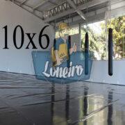 Lona: 10,0 x 6,0m Super Tatame PVC Vinil Premium para pratica de esportes JiuJitSu Muay-Thay Boxe MMA UFC Academias Danças