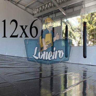 Lona: 12,0 x 6,0m Super Tatame PVC Vinil Premium para pratica de esportes JiuJitSu Muay-Thay Boxe MMA UFC Academias Danças