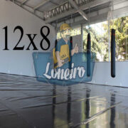 Lona: 12,0 x 8,0m Super Tatame PVC Vinil Premium para pratica de esportes JiuJitSu Muay-Thay Boxe MMA UFC Academias Danças