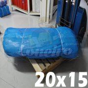 LONA 20x15 AZUL GIGANTE 300 MICRAS LAGO TANQUE PEIXES RESERVATÓRIO CISTERNA LONEIRO LONAS