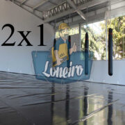 Lona 2,0 x 1,0m Super Tatame PVC Vinil Premium para pratica de esportes JiuJitSu Muay-Thay Boxe MMA UFC Academias Danças