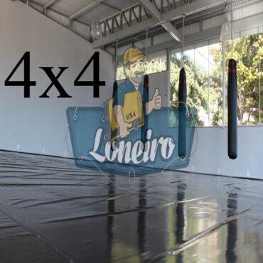Lona 4,0 x 4,0m Super Tatame PVC Vinil Premium para pratica de esportes JiuJitSu Muay-Thay Boxe MMA UFC Academias Danças