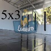 Lona 5,0 x 3,0m Super Tatame PVC Vinil Premium para pratica de esportes JiuJitSu Muay-Thay Boxe MMA UFC Academias Danças