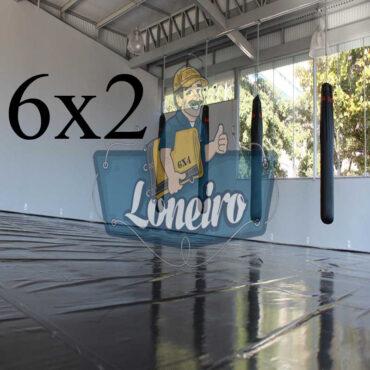 Lona 6,0 x 2,0m Super Tatame PVC Vinil Premium para pratica de esportes JiuJitSu Muay-Thay Boxe MMA UFC Academias Danças