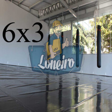 Lona 6,0 x 3,0m Super Tatame PVC Vinil Premium para pratica de esportes JiuJitSu Muay-Thay Boxe MMA UFC Academias Danças