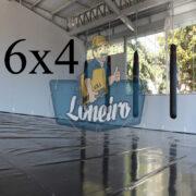Lona 6,0 x 4,0m Super Tatame PVC Vinil Premium para pratica de esportes JiuJitSu Muay-Thay Boxe MMA UFC Academias Danças