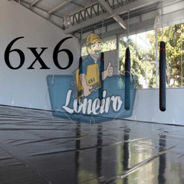 Lona 6,0 x 6,0m Super Tatame PVC Vinil Premium para pratica de esportes JiuJitSu Muay-Thay Boxe MMA UFC Academias Danças
