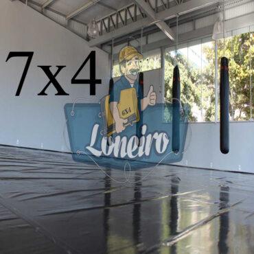 Lona 7,0 x 4,0m Super Tatame PVC Vinil Premium para pratica de esportes JiuJitSu Muay-Thay Boxe MMA UFC Academias Danças