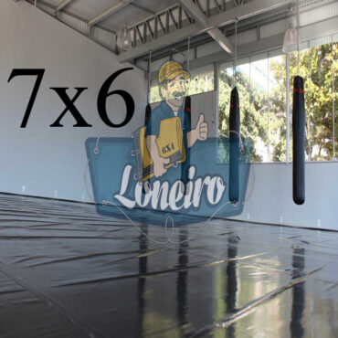 Lona 7,0 x 6,0m Super Tatame PVC Vinil Premium para pratica de esportes JiuJitSu Muay-Thay Boxe MMA UFC Academias Danças