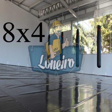 Lona 8,0 x 4,0m Super Tatame PVC Vinil Premium para pratica de esportes JiuJitSu Muay-Thay Boxe MMA UFC Academias Danças