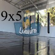 Lona 9,0 x 5,0m Super Tatame PVC Vinil Premium para pratica de esportes JiuJitSu Muay-Thay Boxe MMA UFC Academias Danças