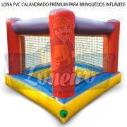 LONA DE PVC VINIL CALANDRADO BOBINA ROLO IMPERMEÁVEL BRINQUEDOS INFLÁVEIS