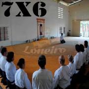 Lona 7,0 x 6,0m para Tatame Encerado Algodão Premium Anti-Derrapante Cotton RipStop Caqui : Akido Judo JiuJitSu Muay-Thay Boxe MMA UFC Academias