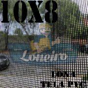 "Lona: 10,0 x 8,0m Tela Premium PVC Preta Vinil Vinílica Sombrite AntiChamas com Argolas ""D"" INOX a cada 50cm"