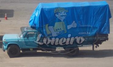Lona Azul Plástica 300 e 500 Micras à pronta entrega Loneiro