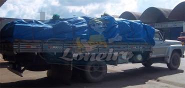 Lona Azul Plástica para Caminhão Graneleiro Carreteiro