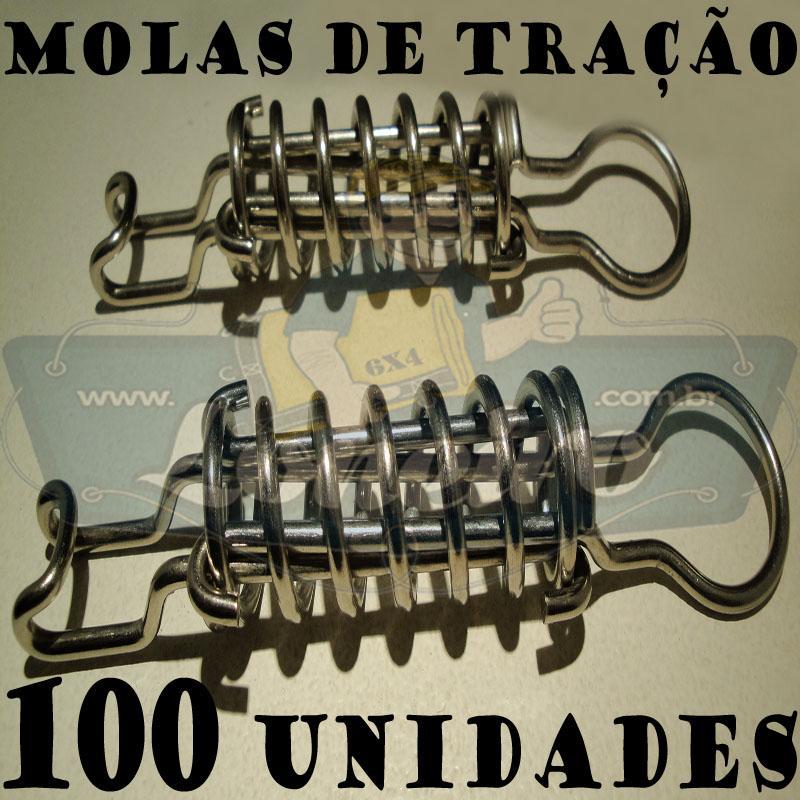 A Molas de Alta Tração Aço Inox Loneiro 100 Unidades MolaFix