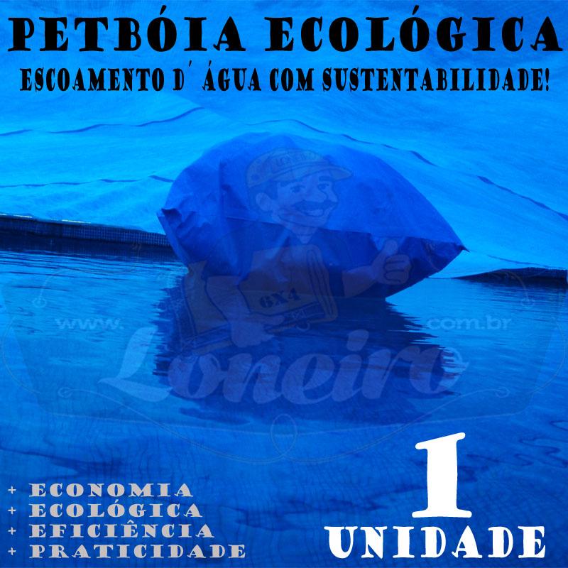 1 PetBóia Ecológica com 20m de corda, 4 Lonafix, 1 Batedor e 8 Elásticos LonaFlex 20cm