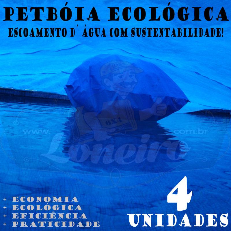 PETBÓIA ECOLÓGICA 4 UNIDADES LONEIRO