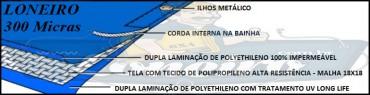 POLYLONA AZUL 300 MICRAS ESPECIFICAÇÃO