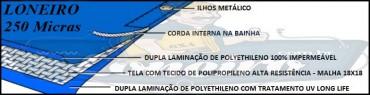 POLYLONA AZUL BRANCO 250 MICRAS ESPECIFICAÇÃO