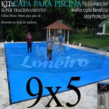 SUPER CAPA PARA PISCINA 9x5 LONEIRO