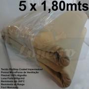 Tecido Forte RipStop Sand Areia Lona de Algodão 5,0 x 1,80 metros Impermeável e Resistente
