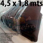 Tecido Forte RipStop Marrom Lona de Algodão 4,5 x 1,8 metros Impermeável e Resistente