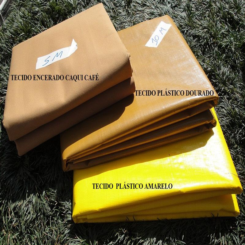 Bobina Plástica Amarela de Polietileno 100,0 x 2,20m = 220m²