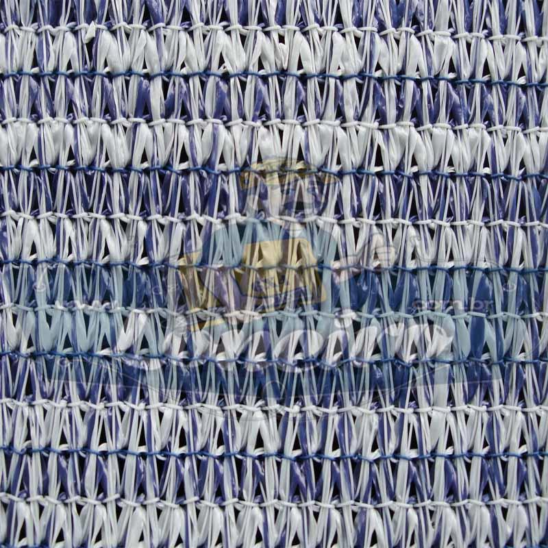 """Lona 3,0 x 3,0 Tela ExtraForte PEAD Premium Caminhão cor Prata/Azul com argolas """"D"""" INOX a cada 50cm + cinta reforçada"""