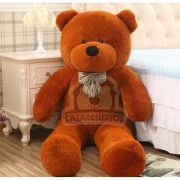 Urso de Pelúcia Gigante Marrom 1,4 Metros ou 140cm de altura presenteie quem você ama - presente aniversário natal namorados