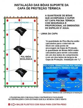 ac.CAPA PISCINA MOLAS INOX-cm-15cm