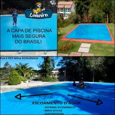 Capa para piscina lona de cobertura e prote o at 300kg for Piscina 5 metros diametro