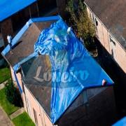Lona: 20,0 x 15,0m Azul 300 Micras Cobertura Proteção Lagos Tanques de Peixes Reservatórios + 70 Elásticos LonaFlex 30cm