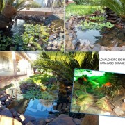 Lona para Lago Tanque de Peixes PP/PE 7,2 x 3,6m Azul / Cinza impermeável e atóxica para Lago Artificial Ornamental e Cisterna de água