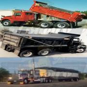 Lona: 11,0 x 2,6 Tela ExtraForte EAD Premium Caminhão cor Prata/Azul + 40 metros Corda 8mm + ABAS LATERAIS de 50cm